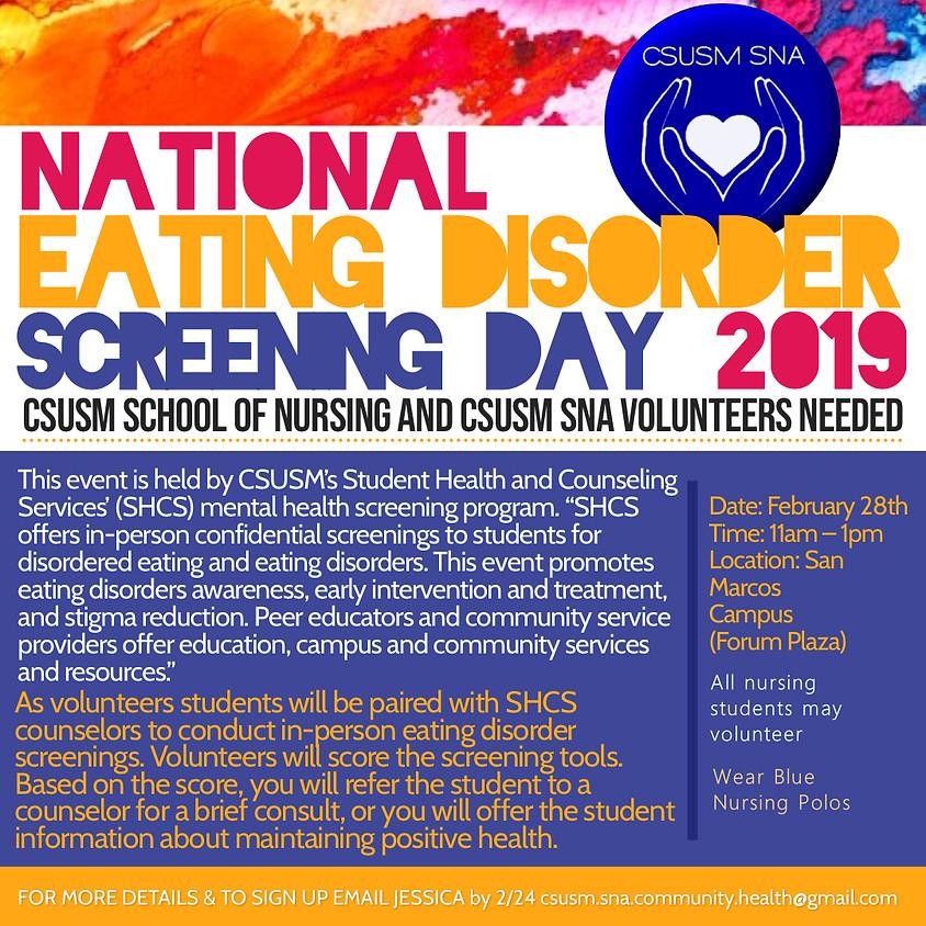 National Eating Disorder Screening Day