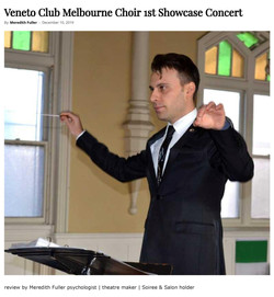 Veneto Club Melbourne Choir 1st Showcase