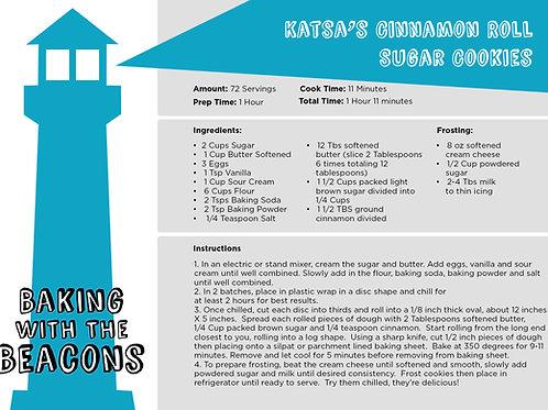 Katsa's Cinnamon Roll  Cookies