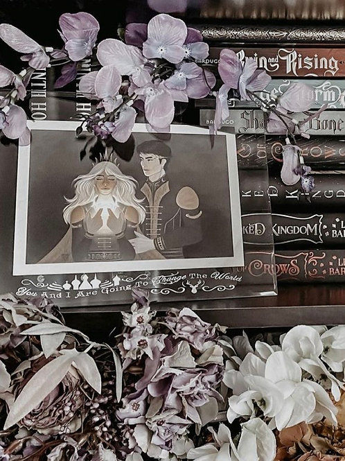 Bookish Picture Frame-Jan
