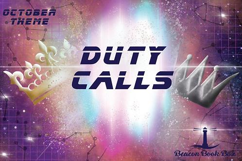 October Box - Duty Calls