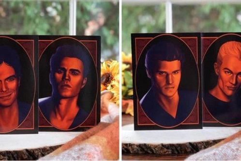 Vampire Diaries/Buffy Prints