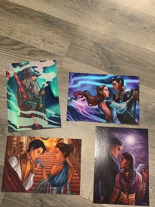 Holiday Character Prints