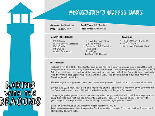 Agnieszkas Coffee Cake Recipe