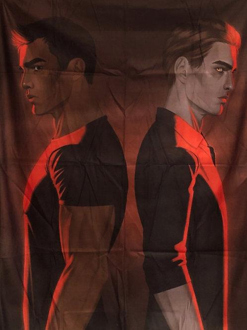 Twilight Tapestry of Edward & Jacob