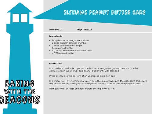 Elfame Peanut Butter Bars