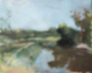 Tirtza Freund,תרצה פרוינד,painting,art,israeli art, kiryat hamelacha,art for sale, landscape,קרית המלאכה,ציור,ישראל,אמנות,אמנות למכירה