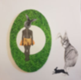 Tova Pesah,טובה פסח,collage, animals israeliart, contemporaryart, art therapy, israel, tel aviv, tlv art, art for sale, kiryat hamelacha,ציור,ציו למכירה,תל אביב
