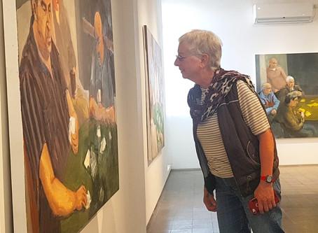Visiting Maya Gallery