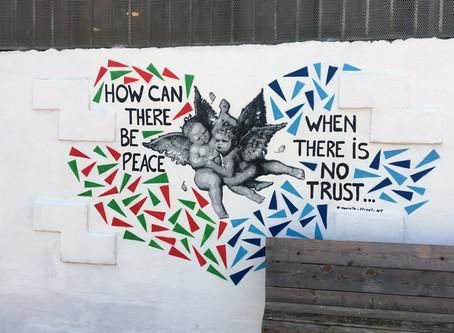 Meet Murielle Street Art