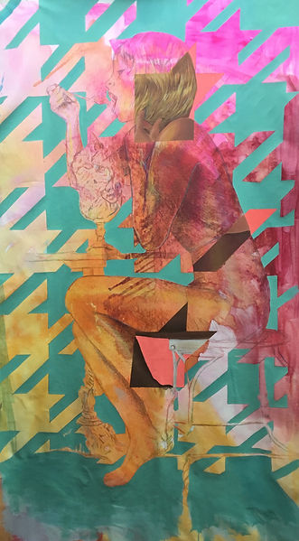 Jessica Moritz,ג׳סיקה מוריץ,painter, street art, israeli art, tel aviv, installation,אומנות,ציירת,תל אביב, ישראל,img