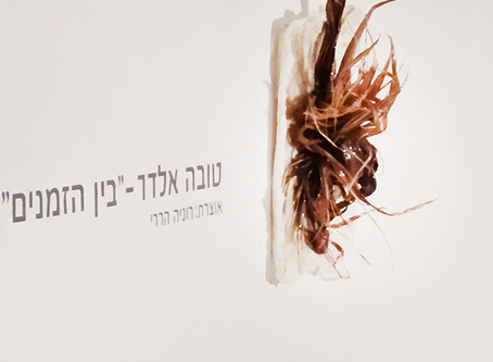 Visit Tova Eldad, בין הזמנים  exhibition at Tel Aviv Artists house