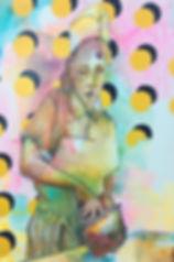 Jessica Moritz,גיסיקה מוריץ,painter, street art, israeli art, tel aviv, installation,אומנות,ציירת,תל אביב, ישראל,img