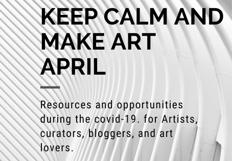 Artist Support: Art during Covid-19, April