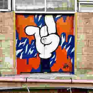 street art, graffiti, israeli art, sraft, tlv, cartoon, itamar bitton, fun art, color splash