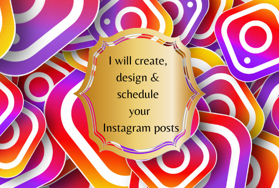 I will create, design & schedule your In