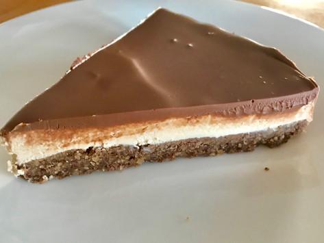 Low-carb Coffee-mascarpone Cake
