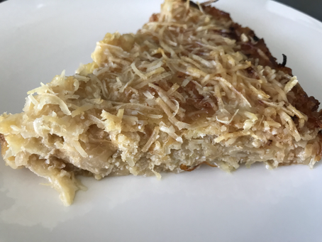 "Low-Carb Cabbage ""Quiche"""