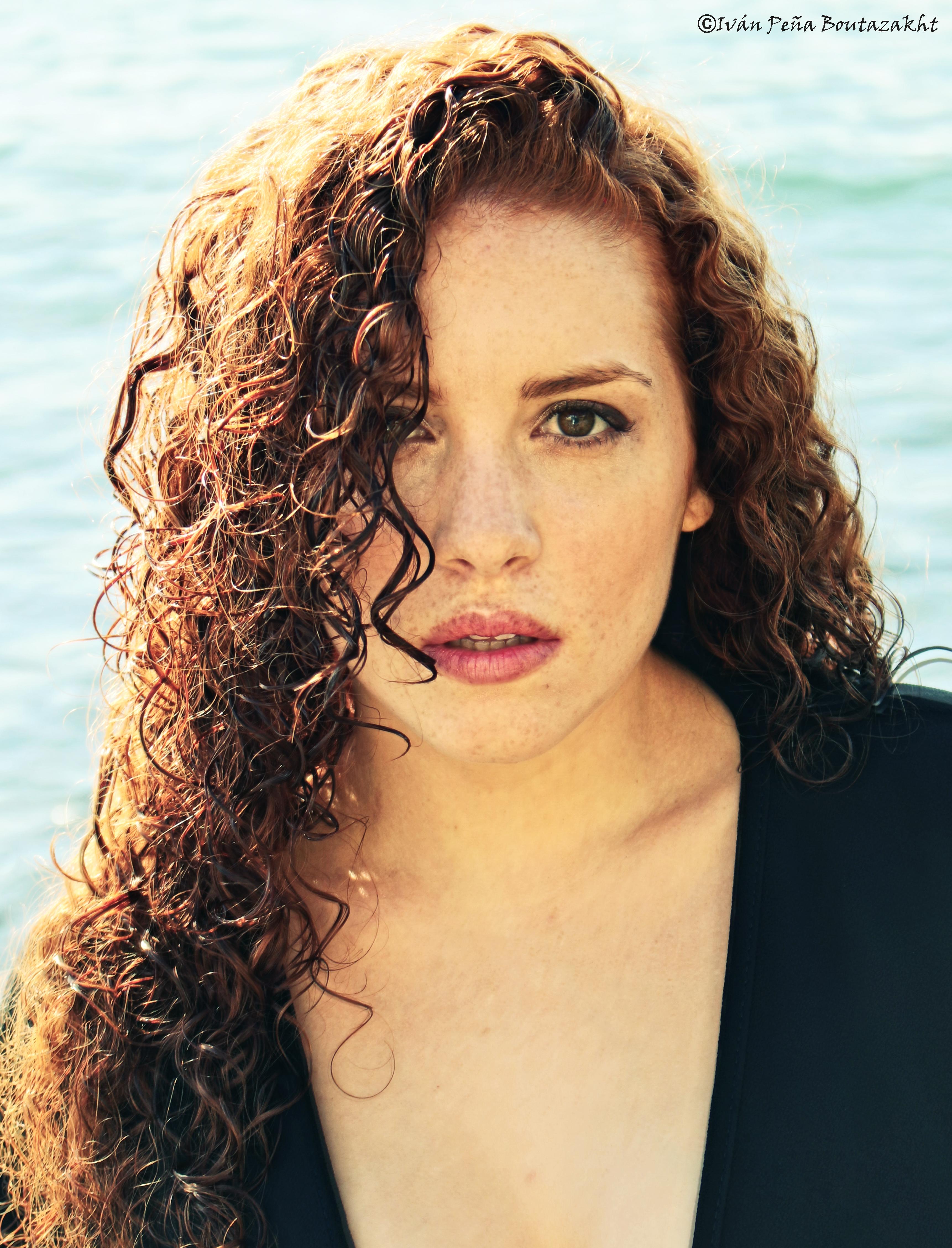 Ginger model Laura