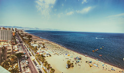 Panoramic views of Torremolinos