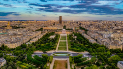Panoramic Views of Paris