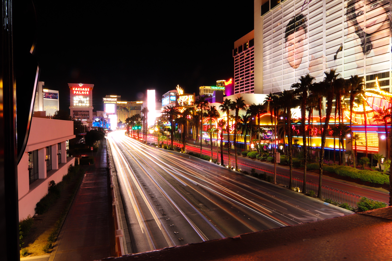Las Vegas Light Trails