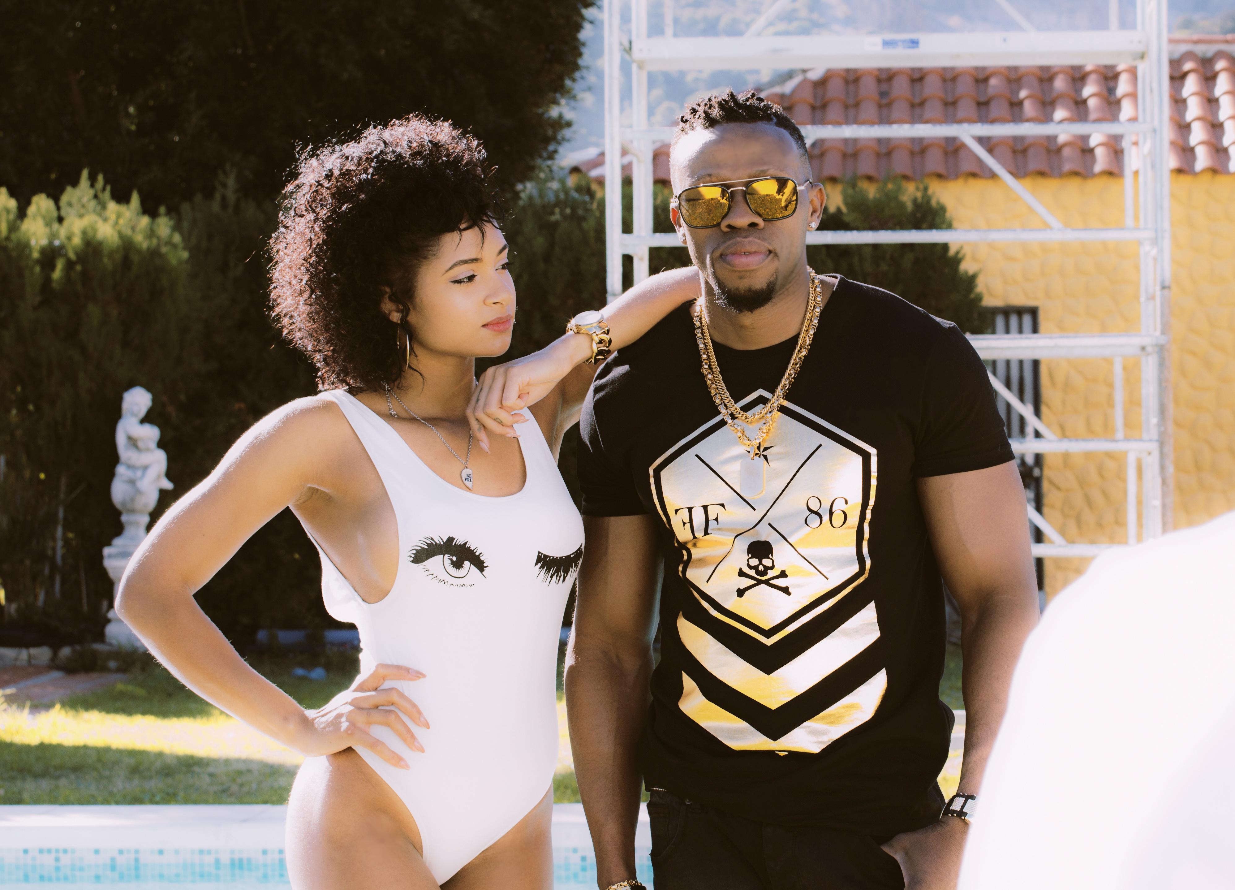 Singer Nelo & Jeilyn model