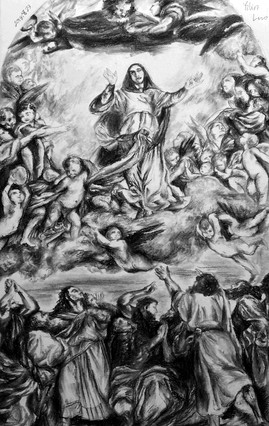 """Study of """"The Assumption of Mary"""""""