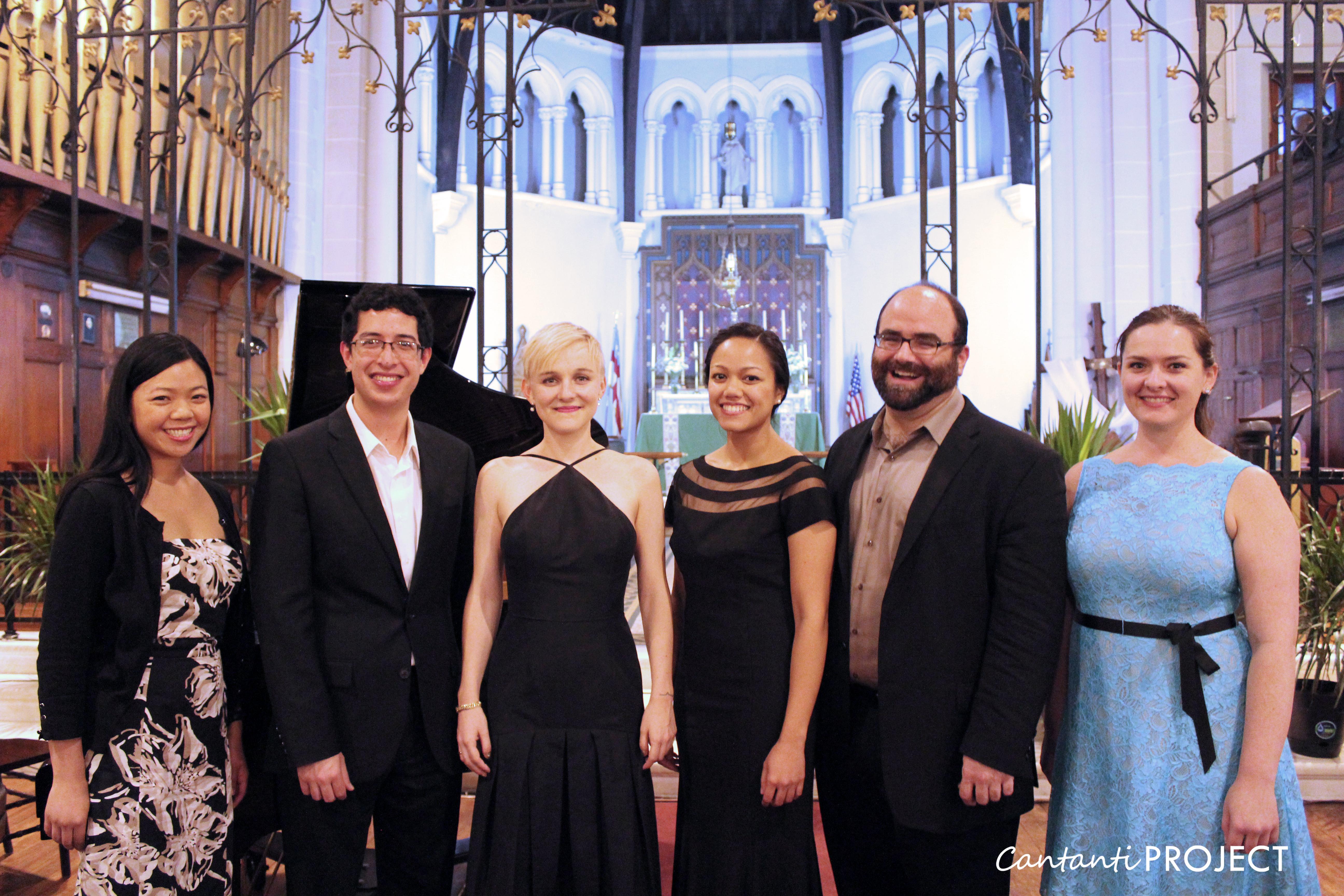 Cantanti Project Recital Series