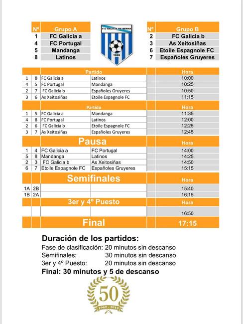 Torneo de Futbol en Berna 28.06.2020