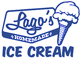 Lago's Ice Cream Logo