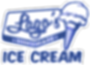 Lago's Ice Cream Logo