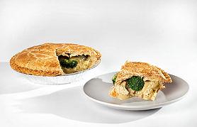 Chicken Broccoli Cheese Pot Pie