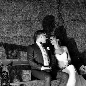 Huwelijksceremonie Andra & Ward.
