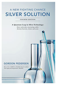 "Livre ""A new fighting chance: Silver solution"" du Dr. Pedersen"