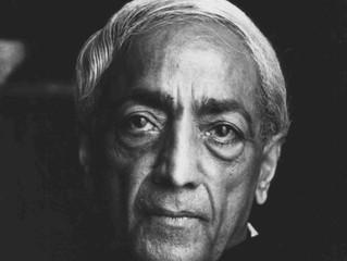 Le sage Krishnamurti
