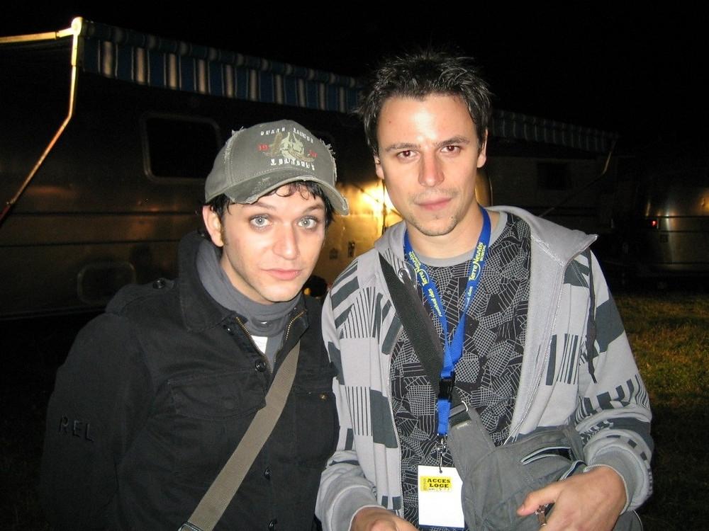 Brian Molko et Nola's key - Bobital 2007