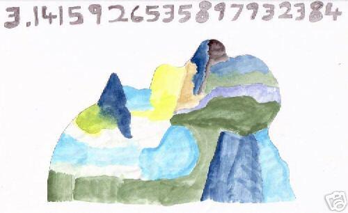Le nombre Pi vu par Tamet