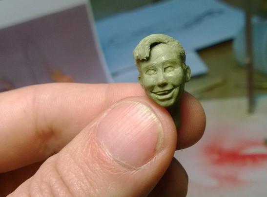 50's Kid - tiny head