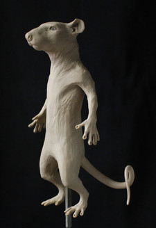 Rat Sculpture