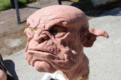 Goblin Head 1 Sculpt WIP