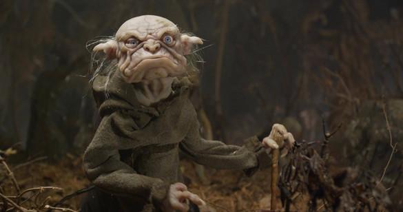 Final Silicone Goblin Puppet