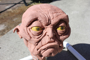 Goblin Head 2 Sculpt WIP