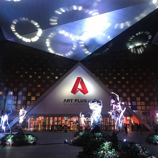 Exhibition at Art Plus Shanghai, Shanghai,  Convention and Exhibition Centre, Booth A43a China