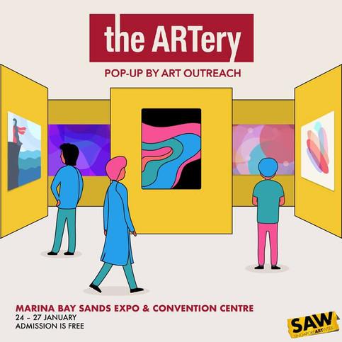 Pop-up Arthery 2019