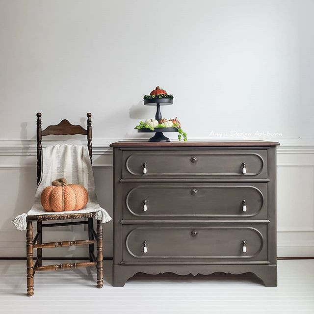 Painted Furniture Milk Paint Antique Dresser Chest of Drawers