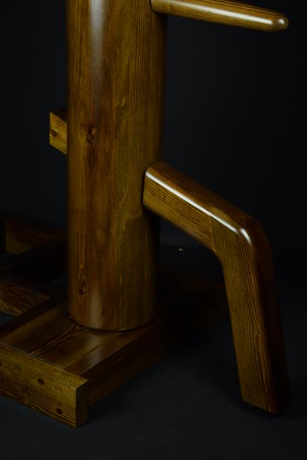 walnut JKD freestanding wooden dummy 3.p