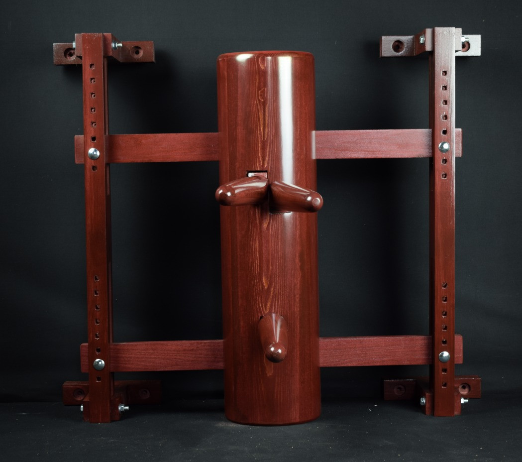 half full round wing chun wooden dummy