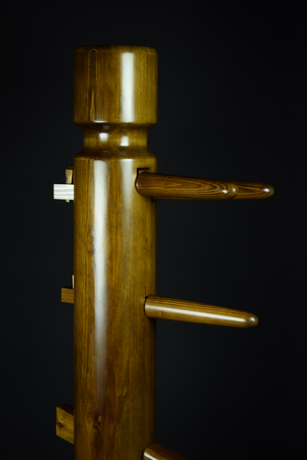 walnut JKD freestanding wooden dummy 2.p