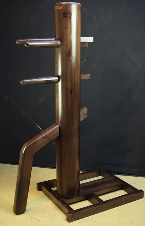 Freestanding Ip Man Wing Chun Wooden Dummy- English Walnut
